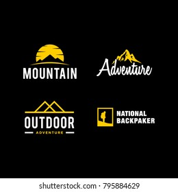 Logo collection of outdoor company