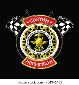 logo color custom motercycled