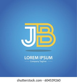 Logo combinations Letter J and B