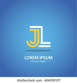 Logo combinations Letter J and L