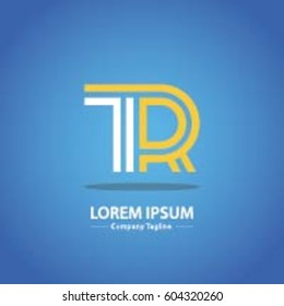 Logo combinations Letter T and R