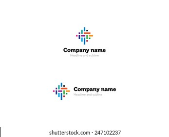 Logo for IT company.