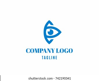 Logo for company. Eye.