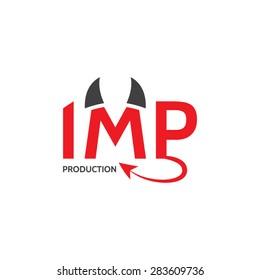 """Logo concept """"Imp Production"""""""