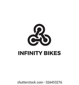 """Logo concept """"Infinity Bikes"""""""