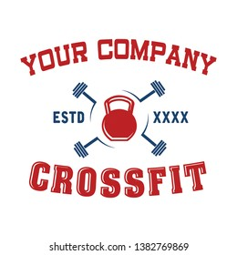 Logo for Crossfit Fitness Company