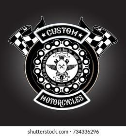 logo custom motercycles