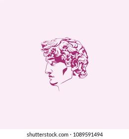 "Logo ""David"" sculpture"