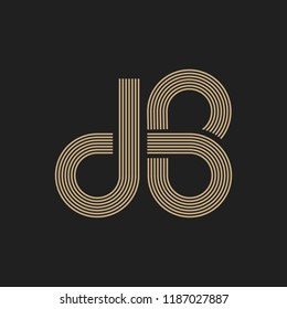 Logo DB Monogram