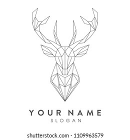 logo deer, high quality, easy to use, hope you like this design!