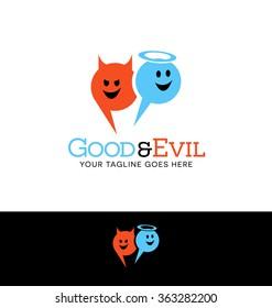Angel devil images stock photos vectors shutterstock - Free evil angel pictures ...