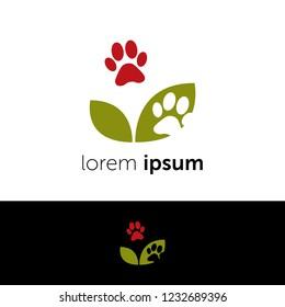 Logo design. Animal sign abstract concept icon
