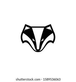 logo design badger sport vector