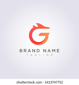 Logo Design combination of the letters G J and planes for Business or Your Brand.
