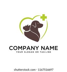 logo design dog and cat care