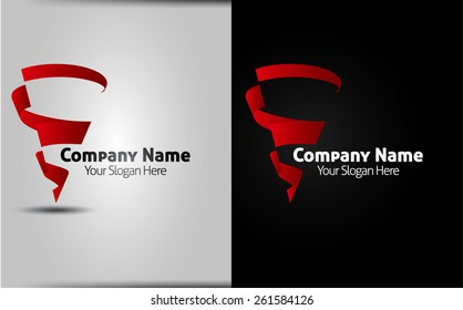 Logo design elements - vector template - isolated corporate logo. easy to use
