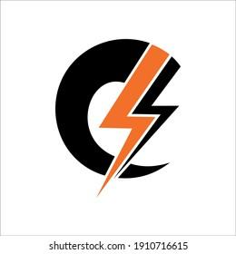 logo design energy vector illustration