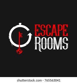 Logo design escape rooms