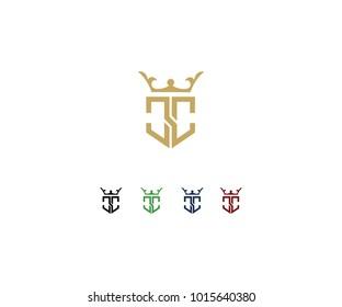 Logo design initial CC
