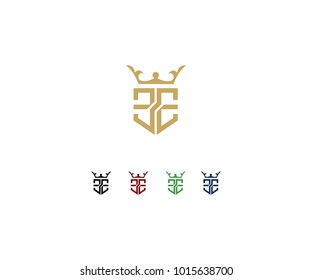 Logo design initial EE