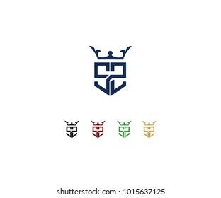 Logo design initial SS
