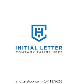 logo design inspiration for companies from the initial letters of the CH logo icon. -Vector