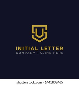 logo design inspiration for companies from the initial letters of the SV logo icon. -Vector