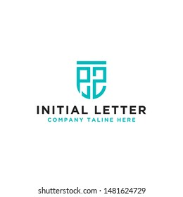 logo design inspiration, for companies from the initial letters PZ logo icon. -Vectors
