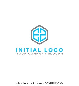 Logo design, Inspiration for companies from the initial letters of the EZ logo icon. -Vectors