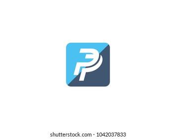 logo design pp square four
