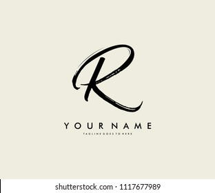 Logo Design R Letter
