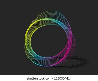 Logo Design with Spiralling Lines