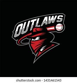 Logo design for sport team, tournament, league or school mascot