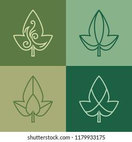 logo design template agriculture organic farm stock vector royalty