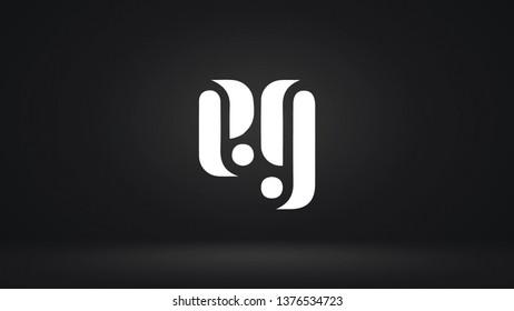 EG logo design template vector letter