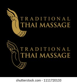 Logo design, Traditional Thai massage