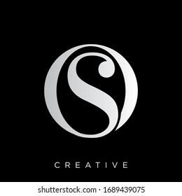 so logo design vector icon symbol luxury
