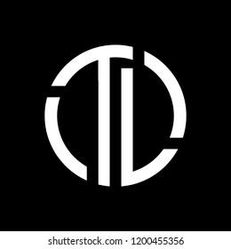Logo Designs with icon Tl logo