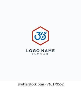 Logo Designs, minimalis 360