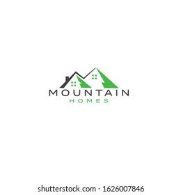 logo designs for mountains real estate