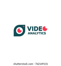 Logo Digital Concept Video analytics is the second sign for your Business