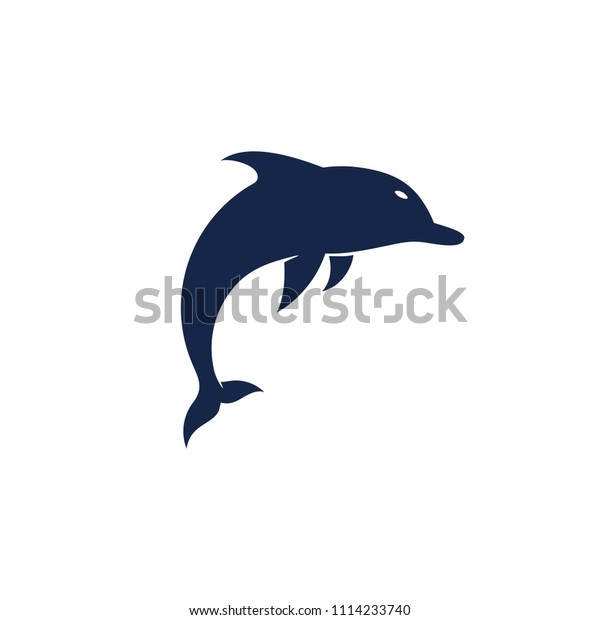 Logo Dolphin Silhouette Vector Stock Vector Royalty Free 1114233740 Silhouette set featuring 4 dolphins in different angles and poses. shutterstock