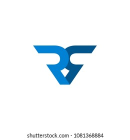 logo double R, vector eps 10