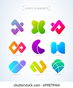 Logo elements collection
