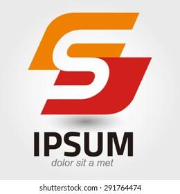 Logo elements, design, innovative and creative inspiration business company