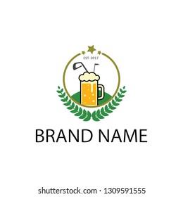 logo event club beer golf