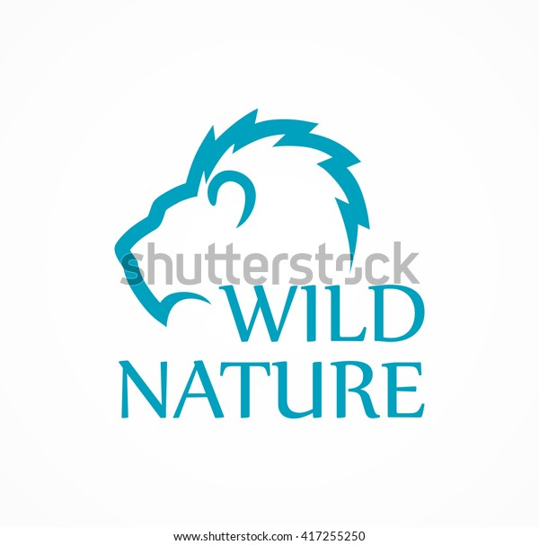 Logo for Fans of Wild Nature, Vector Illustration in style design