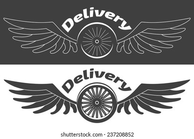 Logo fast delivery company
