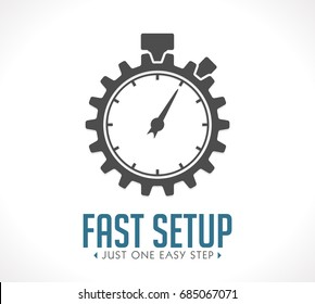 Logo - fast setup - just one easy step