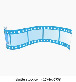 Logo film for camer icon vector illustration on a white background